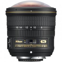 Lente Nikon FX AF-S 8-15mm f/3.5-4.5E ED FISHEYE