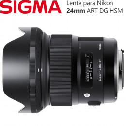 Lente Sigma 24mm f/1.4 DG HSM ART - (Nikon)