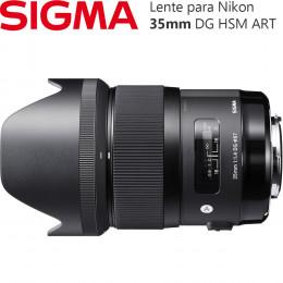 Lente Sigma 35mm f/1.4 DG HSM ART - para Nikon