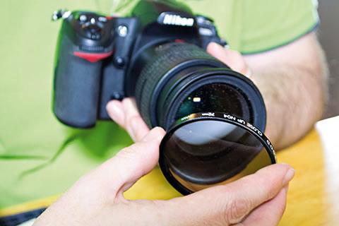 Filtro close up em lentes Nikon