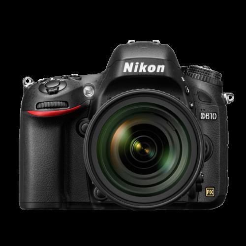 Câmera Nikon D610 Com Lente 24-85mm