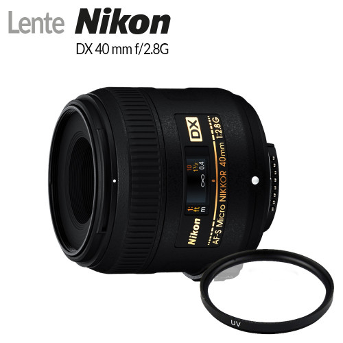 Lente Nikon Macro 40mm f/2.8G - 2