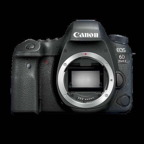 Câmera Canon 6D Mark II 26.2MP, Full Frame, WiFi e GPS - Só corpo