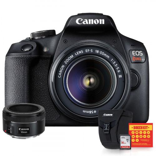 Canon T7 Kit Premium 50mm f/1.8
