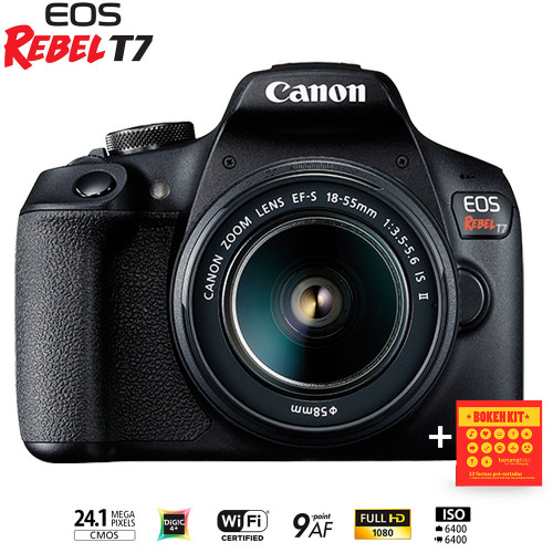 Canon T7 18-55mm