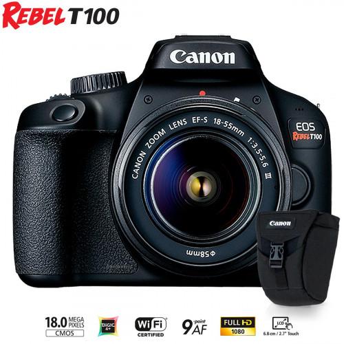 Canon T100+bolsa