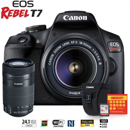 Canon T7 Kit Premium EF-S 55-250