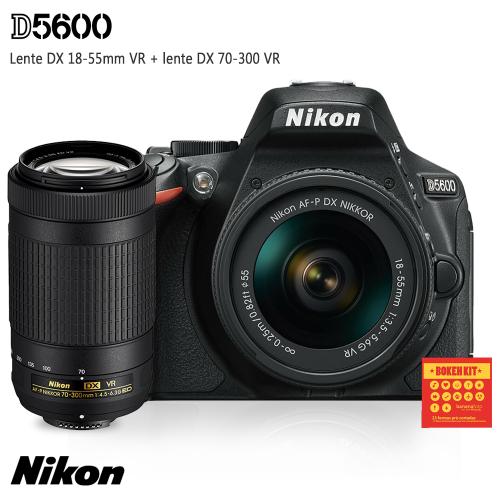 Nikon D5600 Kit 18-55mm e 70-300