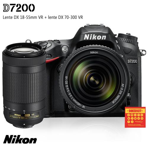 Nikon D7200 Kit DX 70-300mm