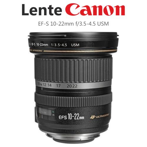 Lente EF-S 10-22mm Canon