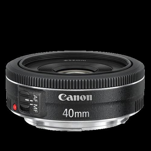 Lente Canon EF 40mm f/2.8 STM Pancake (Prime)