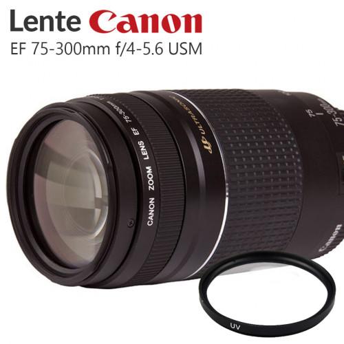 Lente Canon EF 75-300mm III USM