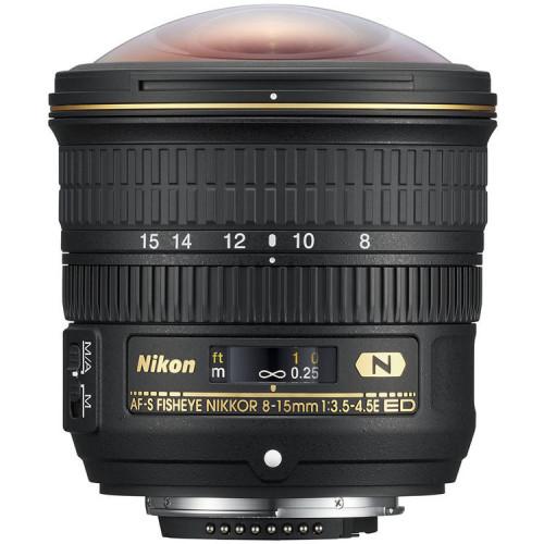 Lente Nikon FX 8-15mm