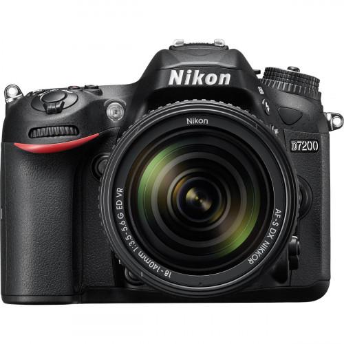 Nikon D7200 lente 18-140mm