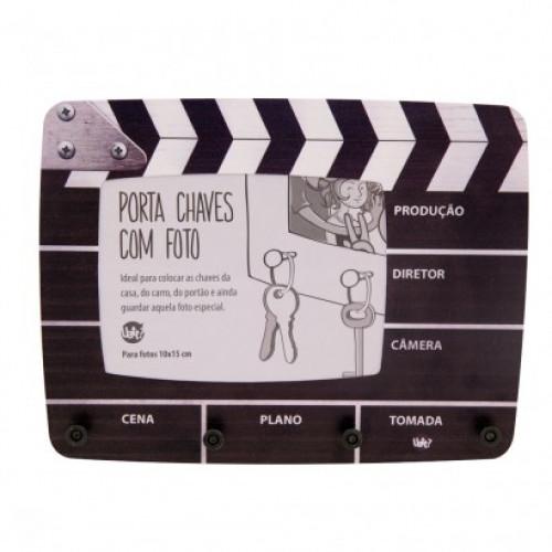 Porta Chaves C/ Foto Claquete Cinema