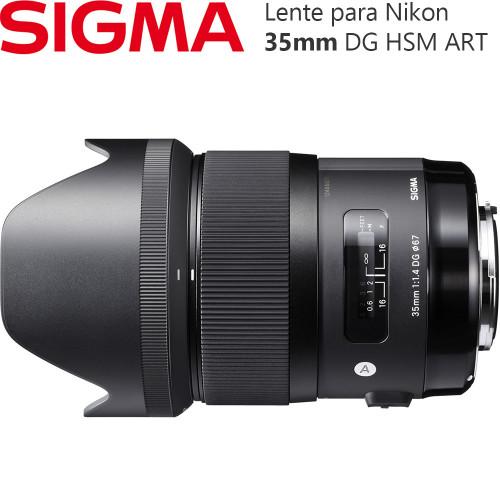 f7de8efd92faf Lente Sigma 35mm f 1.4 DG HSM ART - Sigma 35mm Art   Bananafoto