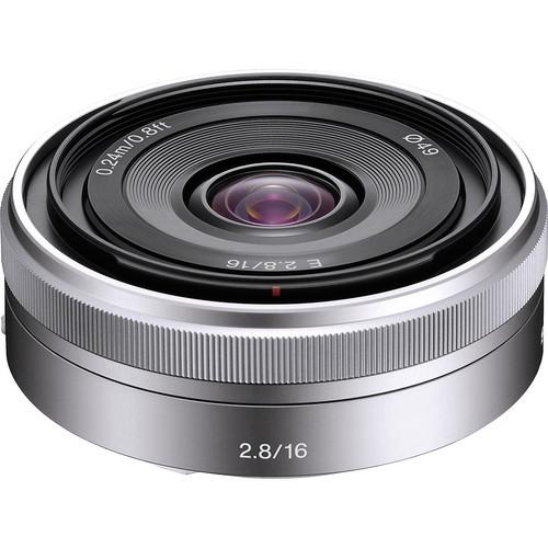Lente Sony E 16mm f / 2.8