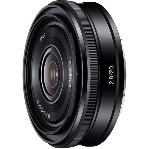 Lente Sony E 20mm f / 2.8