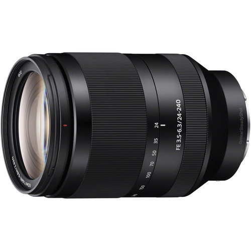 Lente Sony Sel FE 24-240mm f/3.5-6.3