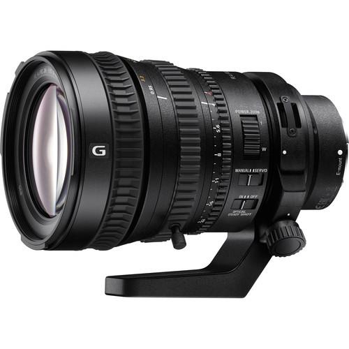 Lente Sony OSE FE PZ 28-135 mm f / 4 G OSS