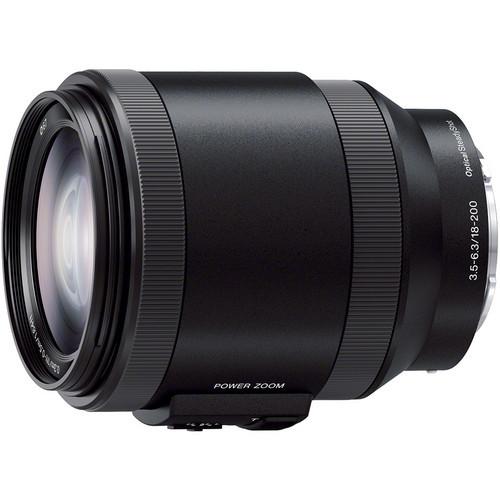 Lente Sony E PZ 18-200 mm