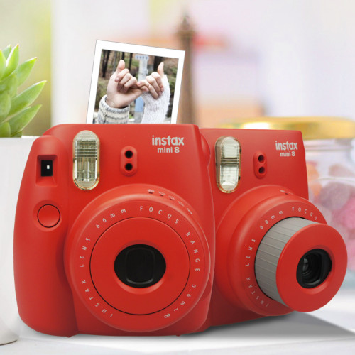 Câmera Instax Mini 8 Vermelha