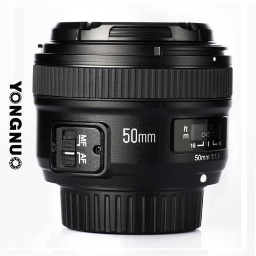 Lente Yongnuo YN50mm Nikon