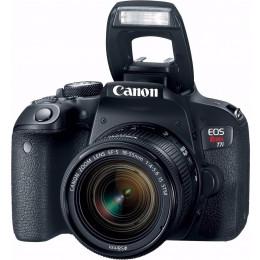 Câmera Canon T7i com Lente EF-S 18-55mm
