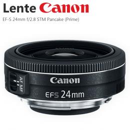 Lente Canon EF-S 24mm f/2.8 STM Pancake (Prime)