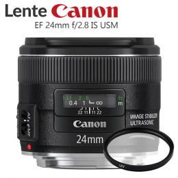Lente Canon EF 24mm f/2.8 IS USM (Prime)