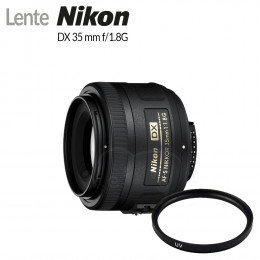 Lente Nikon DX 35mm f/1.8G