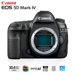 Câmera Canon EOS 5D Mark IV 30.4MP, Full frame, 4K - Só Corpo