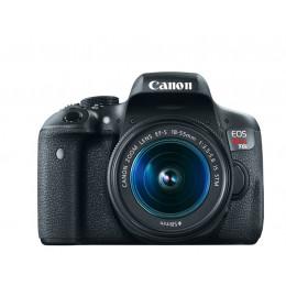 Câmera Canon T6i com lente 18-55mm