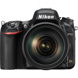 Câmera Nikon D750 com Lente 24-120mm