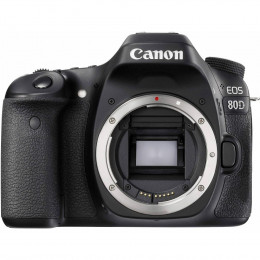 Câmera Canon 80D 24.2MP, Full HD, WiFi (corpo)
