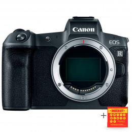 Canon EOS R Câmera Mirrorless 30.3MP, WiFi, 4K (corpo) - Ganhe Kit Bokeh