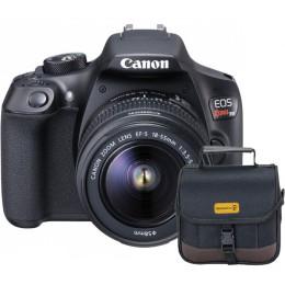 Câmera Canon T6 com Lente 18-55mm + Bolsa