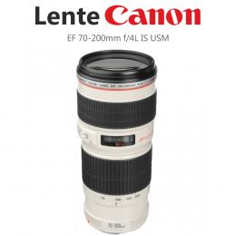 Lente Canon EF 70-200mm f/4L IS USM