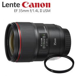 Lente Canon EF 35mm f/1.4L II USM (Prime)