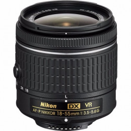 Lente Nikon Af-p Nikkor 18-55mm