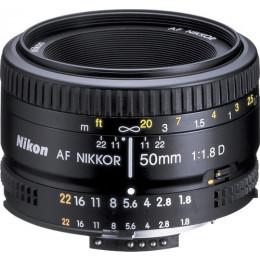 Lente Nikon AF FX 50mm f/1.8D