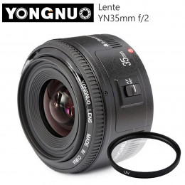 Lente Yongnuo YN 35mm f/2 - Para Canon