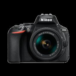Câmera Nikon D5600 + Lente DX 18-55mm VR