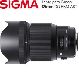 Lente Sigma 85mm f/1.4 DG HSM ART - para Canon