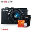 Kit Câmera Digital Canon EOS M100 Mirrorless com Lente 15-45mm
