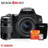 Canon SL3 Kit + lente 75-300