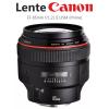 Lente EF 85mm f/1.2L II USM Canon