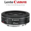 Lente EF 40mm f/2.8 STM Pancake