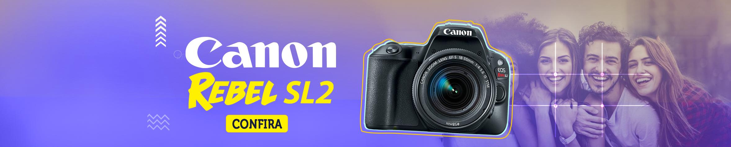Canon Sl2 Câmera Profissional