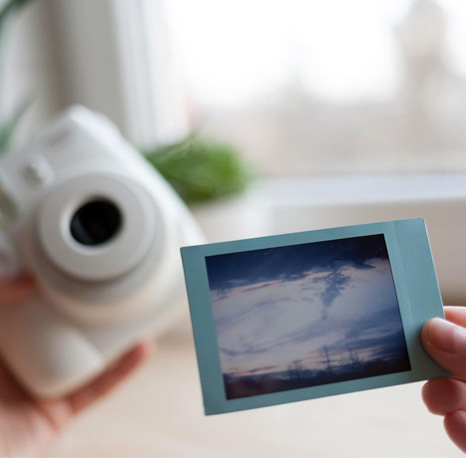 Filme Instax Sky blue